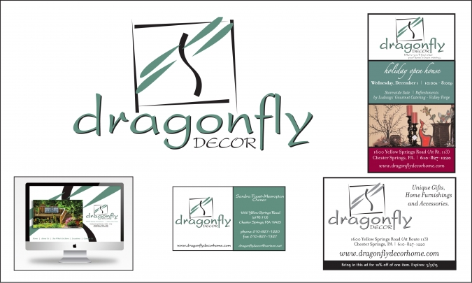 branding spotlight – Dragonfly Decor