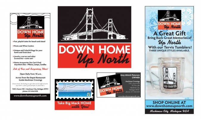 branding spotlight – Down Home Up North