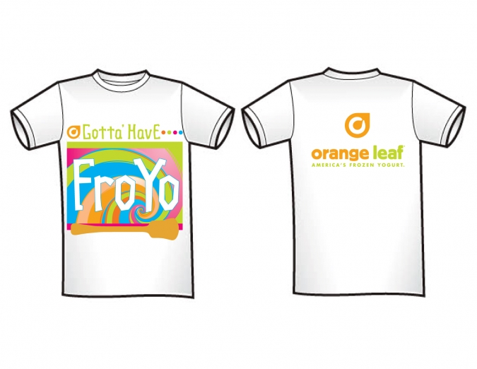 orange leaf t-shirts